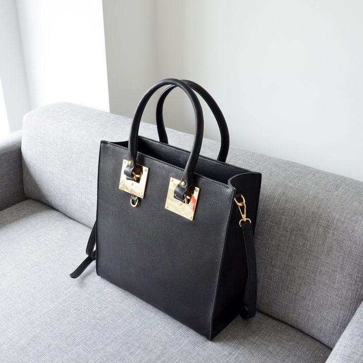 BAG BLACK TOTE I TOREBKA CZARNA XXL I  MONASHE.PL - Sklep online z modną odzieżą. Bluzki, sukienki, torebki, obuwie, akcesoria.