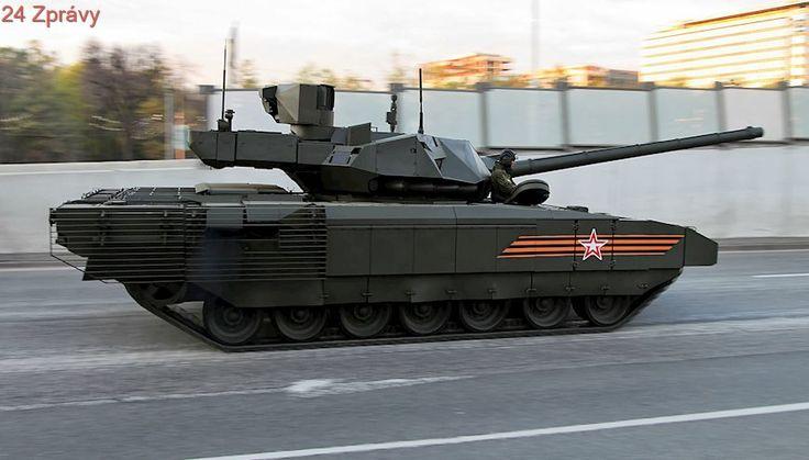 Rusko couvá. Ruší plány na masivní výrobu tanků Armata