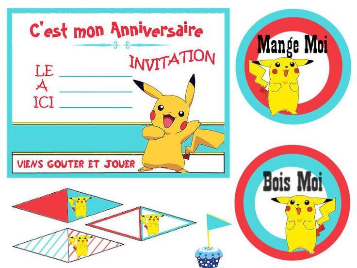 Préférence carte anniversaire invitation à imprimer | carte invitation  JW24