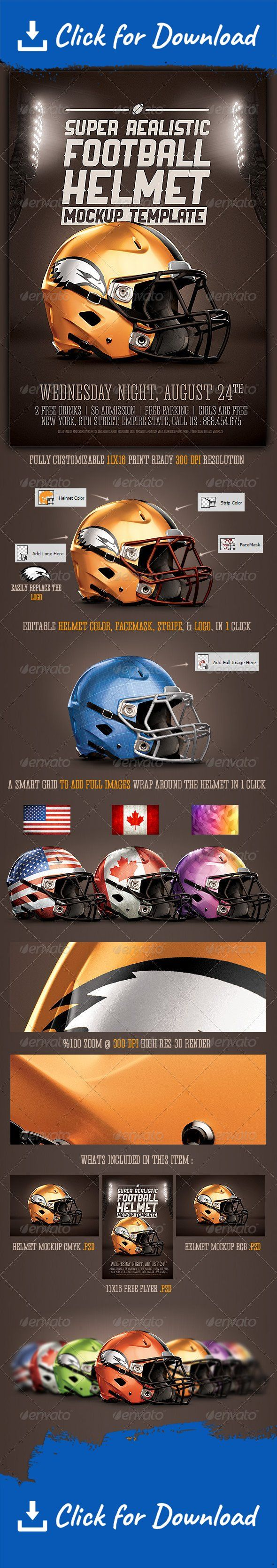 3d helmet, american football, ball, champions, championship, college, college football, fans, fantasy, fantasy football, flyer, foot, football, football helmet, game, goal, helmet, helmet mockup, league, monday night football, olympics, playoff, stadium, super bowl, superbowl, Superbowl Flyer, tournament, XLVIII                            	  Please dont forget to Rate          	A Premium Football helmet mockup with a free flyer template, in super high resolution at 3292×4800 pixles or…