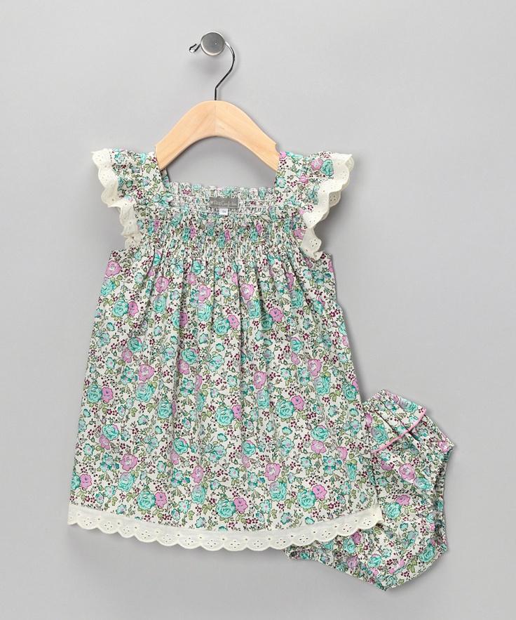 { Liberty of London Smocked Dress } - inspiration