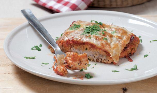 Συνταγές για 2-Σνίτσελ φούρνου με κρούστα τυριού