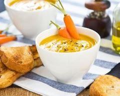 Velouté de carottes au lait de coco Ingrédients