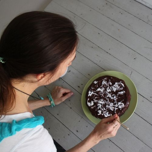Watch Jo Whitton demonstrate how to make a dairy free, gluten free, nut free chocolate cake - it's perfect for a special occasion!