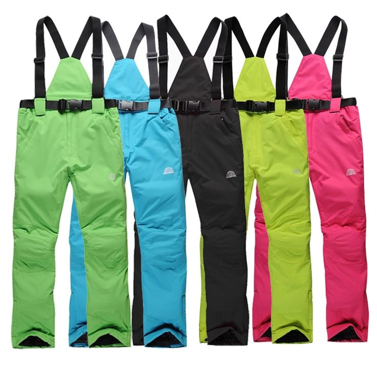 33.00$  Watch now - http://ali9zv.shopchina.info/1/go.php?t=2050040808 - 2016 Outdoor Pants Sport Waterproof  Hiking Camping Trousers winter ski pants men women suspenders -30 Degrees warm ski pants 33.00$ #shopstyle