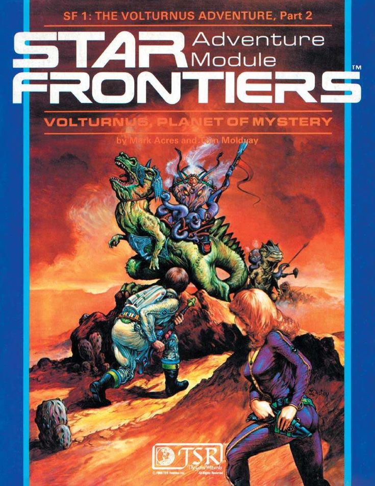 Star Frontiers: (SF1) Volturnus, Planet of Mystery - Wizards of the Coast | DriveThruRPG.com
