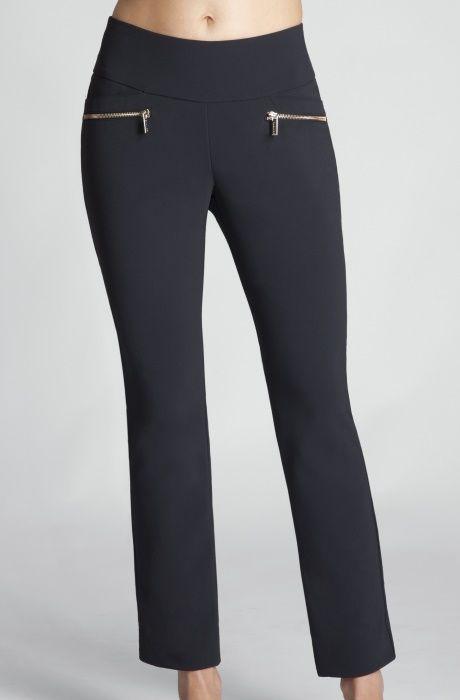 "Black  Tail Ladies OCEAN BREEZE Tasha 28"" Inseam Pull On Golf Ankle Pants available at #lorisgolfshoppe"