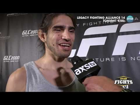 MMA Roberto Sanchez, Jerome Rivera speak with AXS TV's Ron Kruck ahead of LFA 14