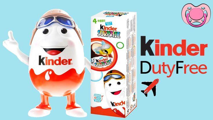 Ovo surpresa - Especial Kider duty free ✈️