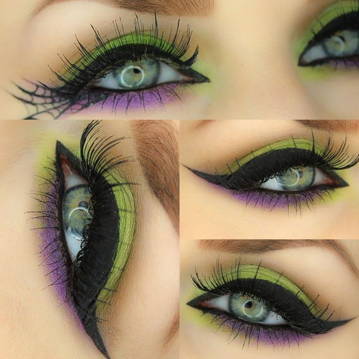 'Spellbound' Halloween Witch Eye Make-up Tutorial The classic Halloween witch…