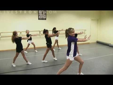 How to Combine Cheerleading Dance Moves