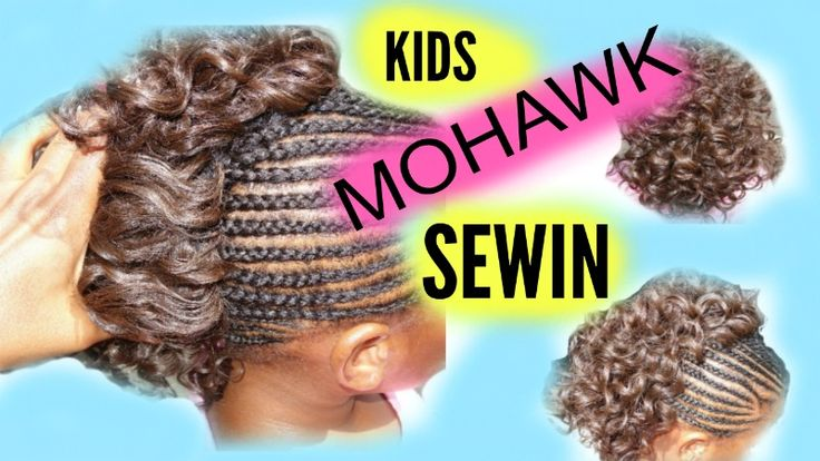 HI guys. this is a very simple semi-mohawk  sewin style for kids. A tutorial on this look is coming up tomorrow on my youtube channel. stay turned and don't forget to watch my last video. follow me on Instagram and Twitter as christbella7.  Shalom.