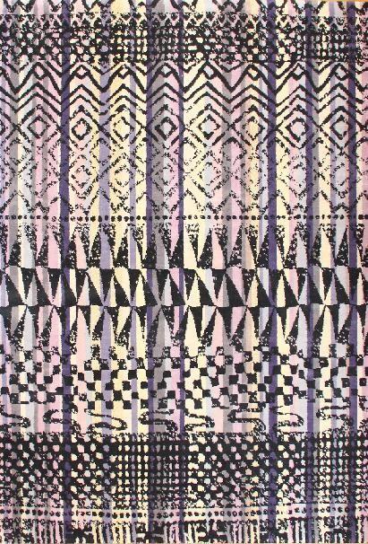 Karpet Fusion Reprise Paars