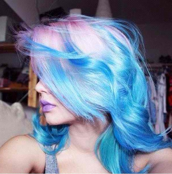 Cotton Candy Blue Hair: 95 Best Cotton Candy Hair :-X Images On Pinterest