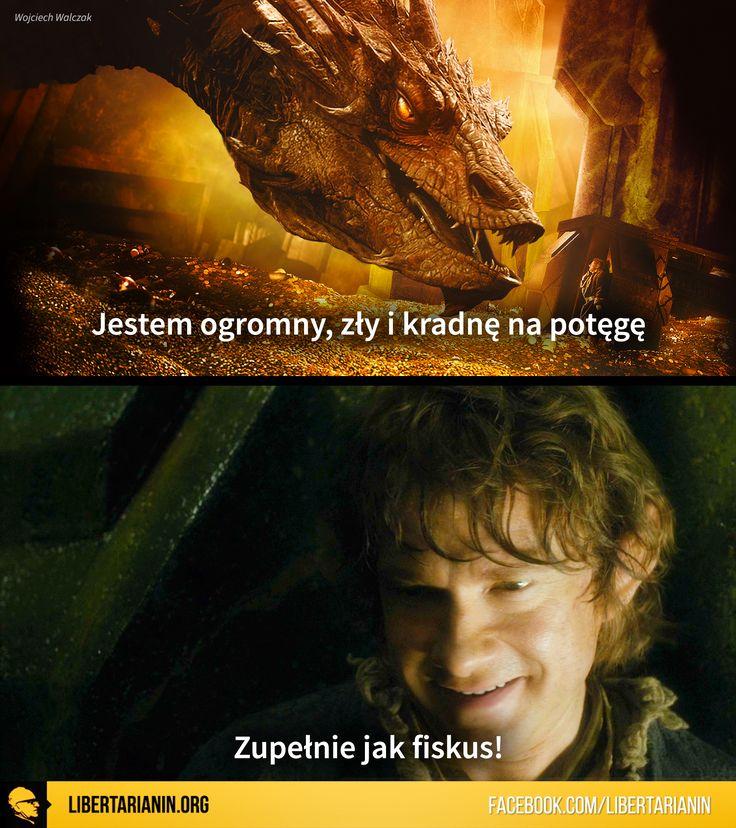 #Smaug #hobbit #fiskus #rząd #libertarianizm #rynek