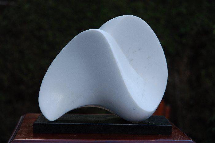 22 Beelden Jan van der Laan- marmer- 2007- Golf