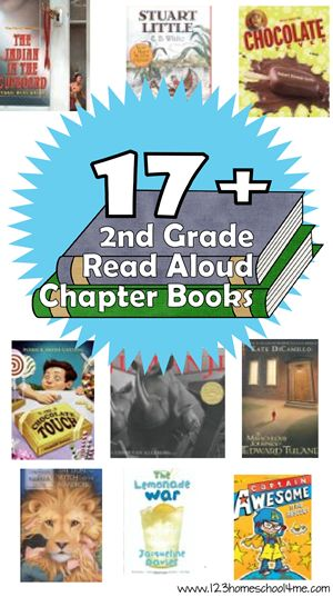FREE 2nd Grade Read Aloud Chapter Books Printable Jennifer Archer