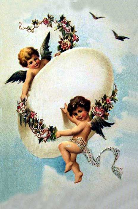 Old Easter Post Card —  (465×700)