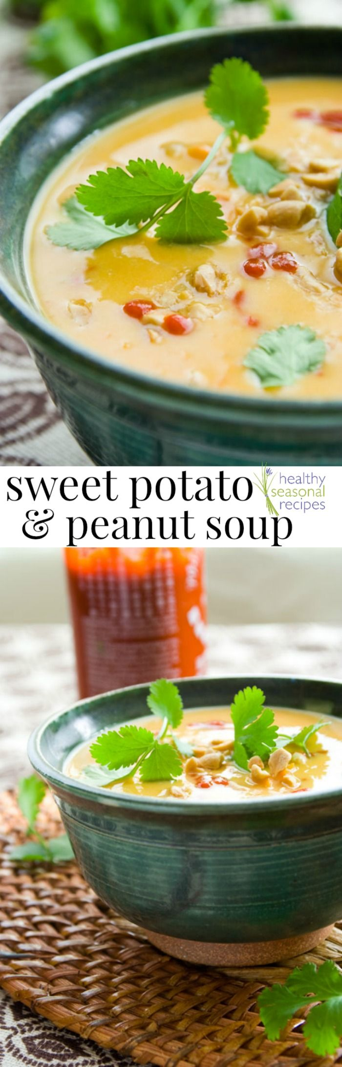 Blog post at Healthy Seasonal Recipes :  //  Healthy and delicious sweet potato soup recipe with peanuts and coconut. Gluten-free and dairy free.  There are times in recipe deve[..]