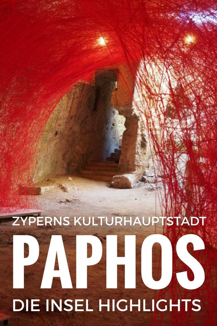 Kulturhauptstadt Paphos auf Zypern das Programm und Reisetipps für die griechische Insel: Sehenswürdigkeiten, Hotels, Restaurants, Ausflüge.