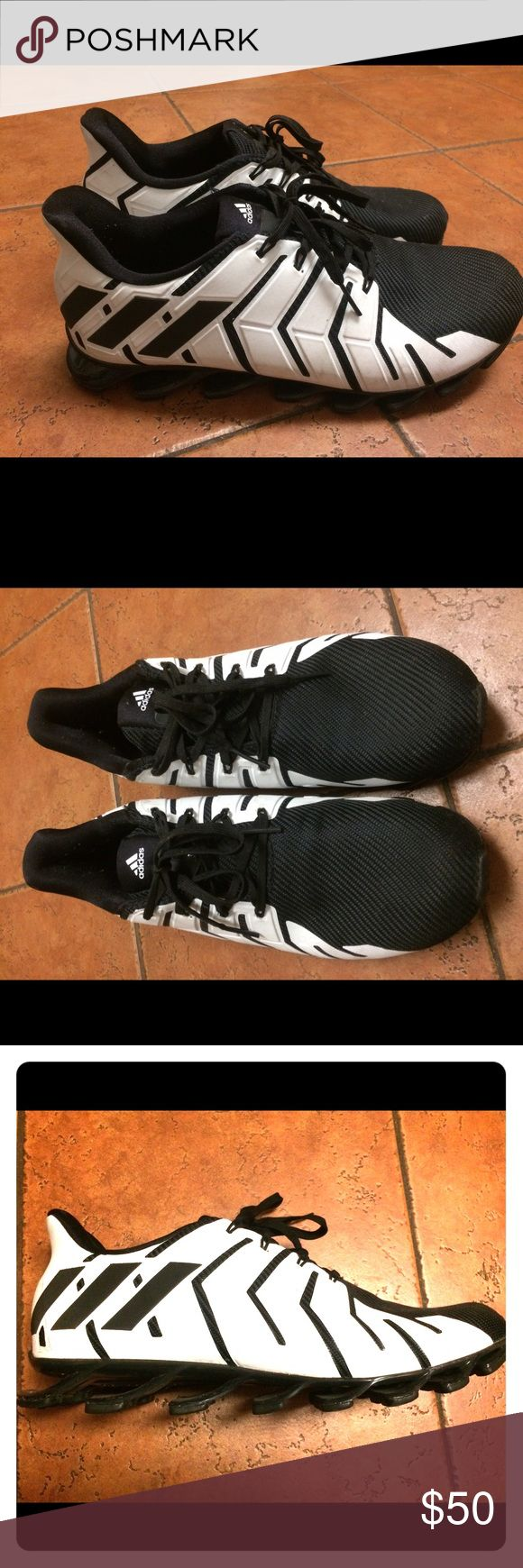 Adidas Springblade Black and White Men's Adidas Springblade sneakers. Size 11.5 ,Black and White. Perfect condition, worn only a couple of times. Extraordinarily comfortable. Shoes Sneakers