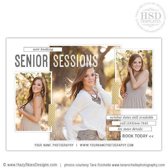 Senior portrait templates