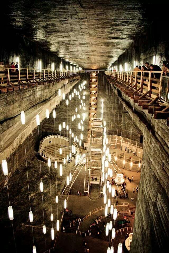 Romania, underground arch