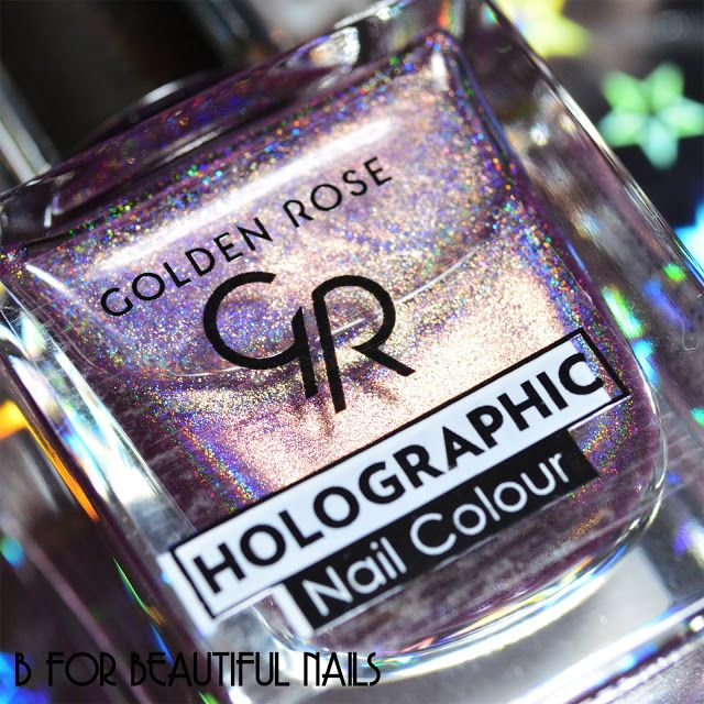 ♥ Golden Rose ♥ Holographic ♥ SWATCHES ♥