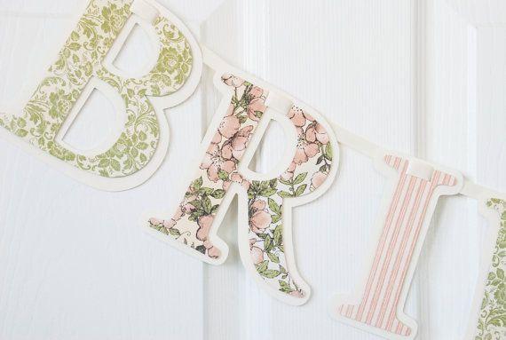 bridal shower banner. http://www.etsy.com/shop/DelightfulDecoration?ref=seller_info