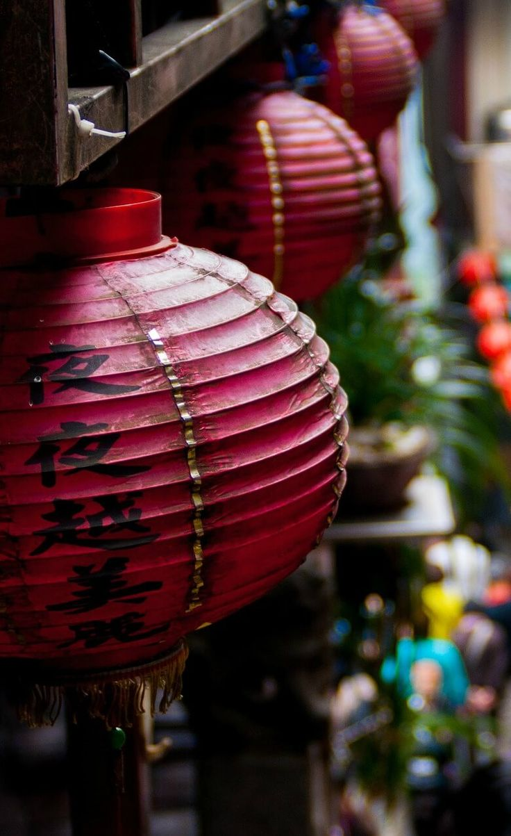In an ancient China town. Do you want to visit this beautiful country?