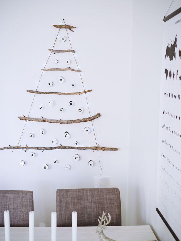 Advent calendar / Itse tehty joulukalenteri.