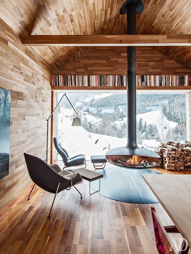 A Sculptor's Chalet in Vinschgau, Italy