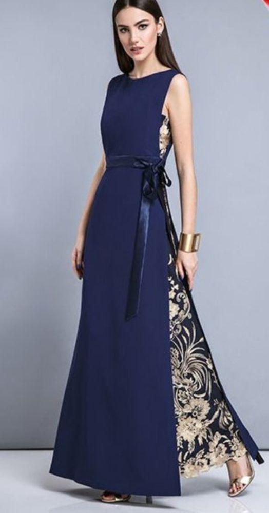 Красота платьев с текстурной вышивкой – Ярм…