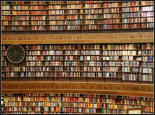 books, books, books  when in Stockholm
