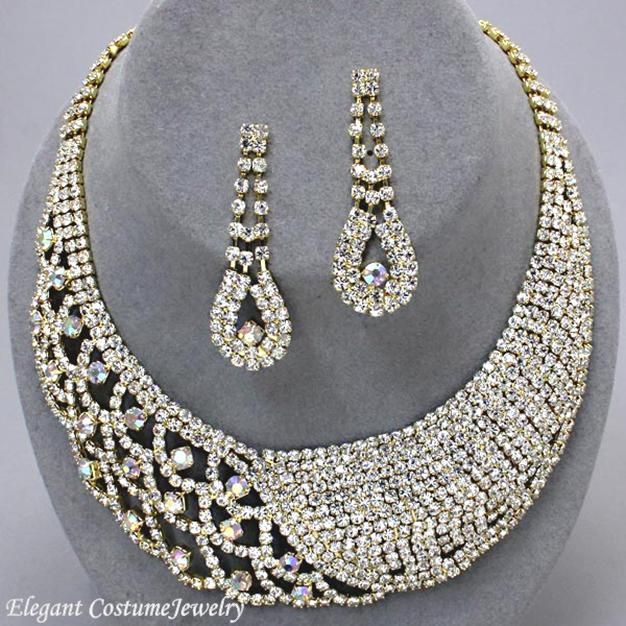 202 Best PROM JEWELRY Images On Pinterest