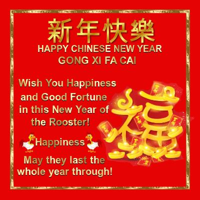 Chinese New Year 28th January 2017/Friends section.  Wish your friends happiness and good fortune the whole year through!  Permalink : http://www.123greetings.com/events/chinese_new_year/friends/wish_you.html