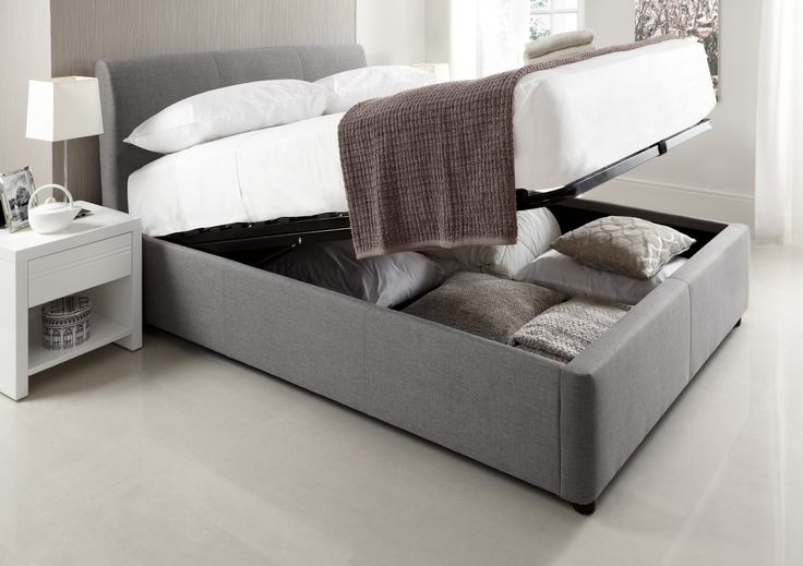 The Serenity Upholstered Ottoman Storage Bed is a brand new addition to our Sleep Sanctuary brand and we love it! Modern and bang on trend this frame is the perfect solution to those who are looking to upgrade their bedroom, without breaking the bank. The Serenity ensures a top of the range, fashionable bed frame for an affordable price. Upholstered in a choice of neutral colours the Serenity Ottoman is designed to fit into any bedroom décor. Choose from a selection Steel Grey, Mink or…
