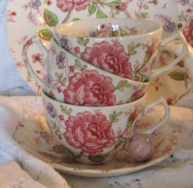 Rose Chintz Grandma Greenhill's Kitchen Dishes