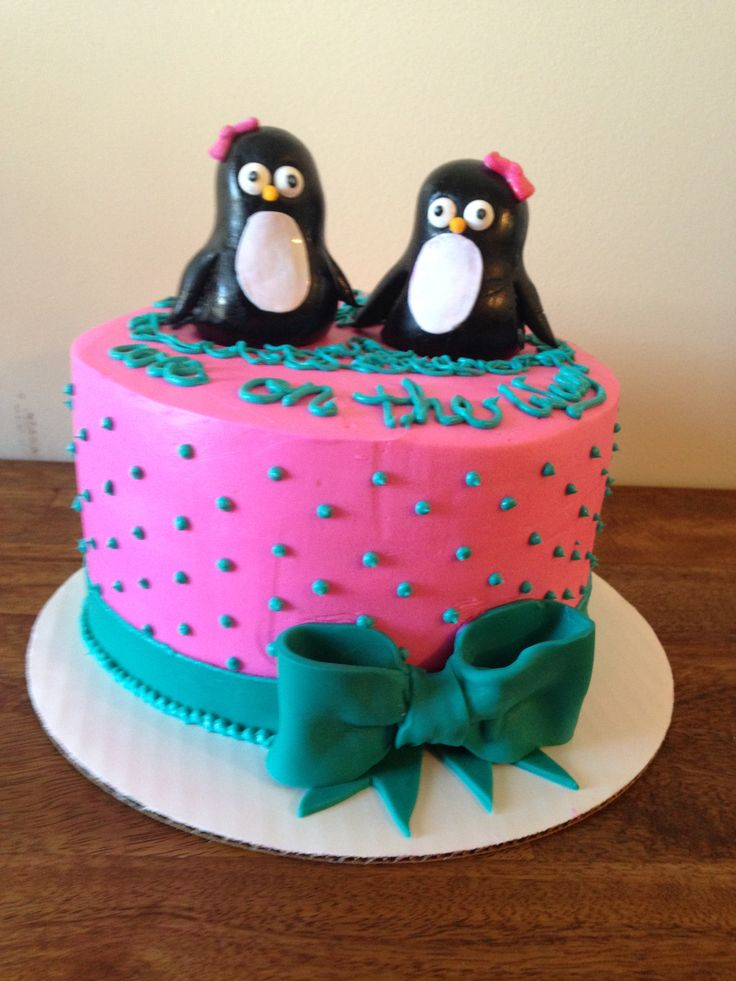 Penguin Baby Shower Cake Ideas And Designs