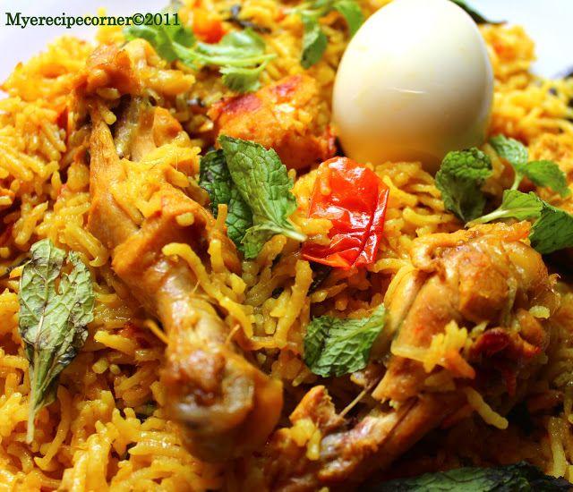 Mye's Kitchen: Muslim's Chicken Biryani- Fail-Safe Recipe