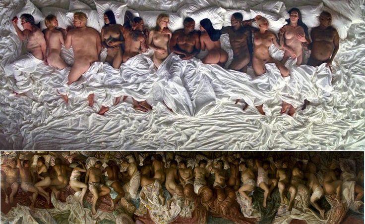 Une version moderne du mythe de Narcisse par Kanye : Famous