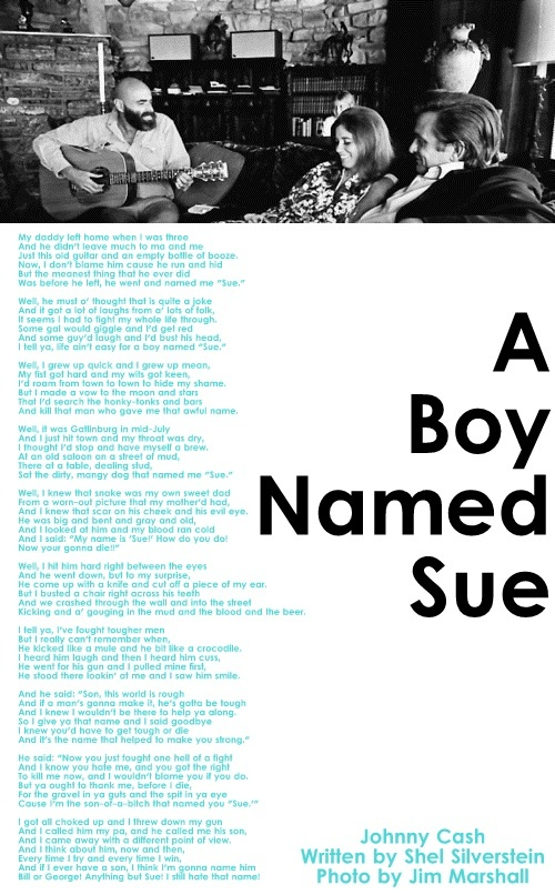 Johnny Cash - A Boy Named Sue Lyrics | MetroLyrics