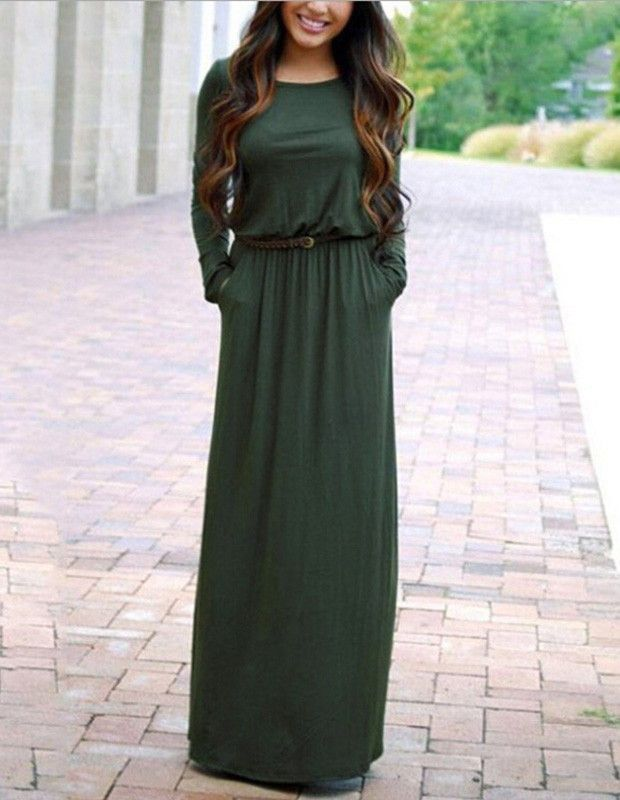 25  best ideas about Long casual dresses on Pinterest | Long ...