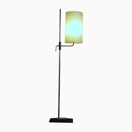 Elegant Vintage Stehlampe mit Fiberglas Schirm Jetzt bestellen unter https moebel ladendirekt