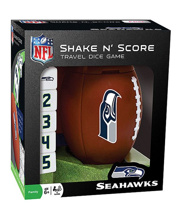 Look at this Seattle Seahawks Shake 'n' Score Game on #zulily today!