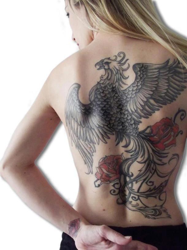 Tatuagem da Fênix – Significado, Simbolismo e Fotos                                                                                                                                                                                 Mais