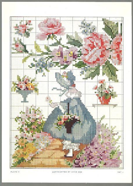 Sentimental Baby: Vintage Ann Orr Cross Stitch Patterns