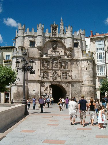 Burgos - The home of El Cid, Spain's national hero. It's Cathedral is one of the finest in Europe, and contains the tomb of El Cid.