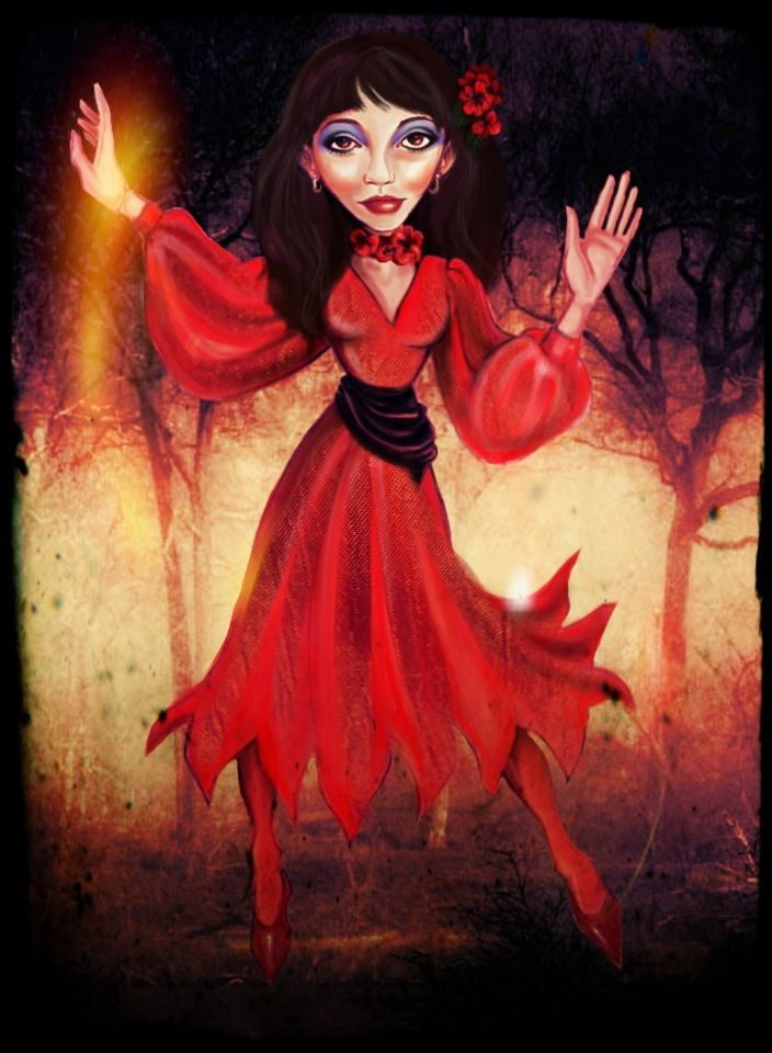Kate Bush-Wuthering heights II by iniminiemoo