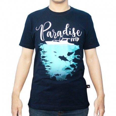 "Kaos Mancing IFT ""PARADISE TRIP"""